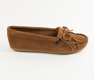Kilty Moccasin - Dusty Brown