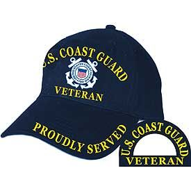 Coast Guard Proudly Served Cap
