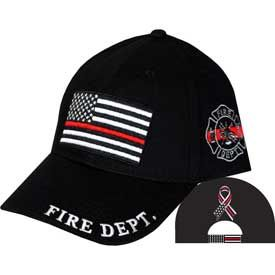 Firefighter Thin Line Cap