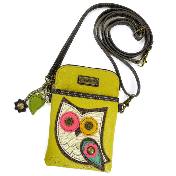 Owl Cellphone Crossbody