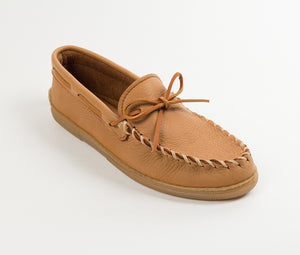 Moosehide Classic Moccasin - Natural