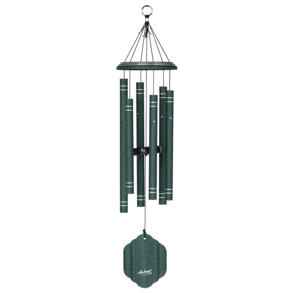 Arabesque® 29-inch Windchime -Emerald