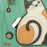 Lazy Cat Everyday Tote - Teal