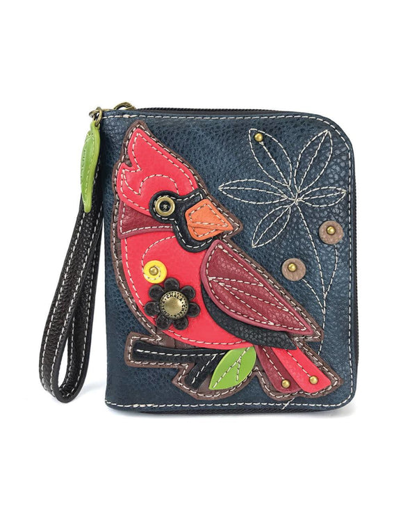 Cardinal Zip Around Wallet - Navy