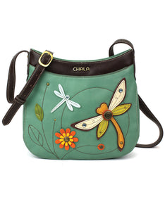 Dragonfly Crescent Crossbody