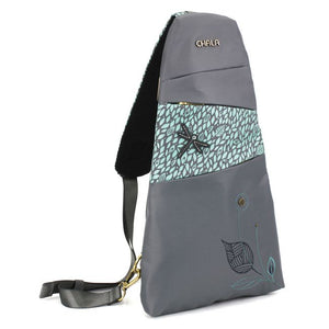 Dragonfly Sling Backpack - Gray