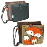 Fox Messenger Bag - Brown