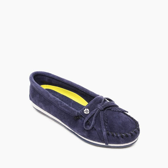 Kilty Plus Moccasin  - Navy