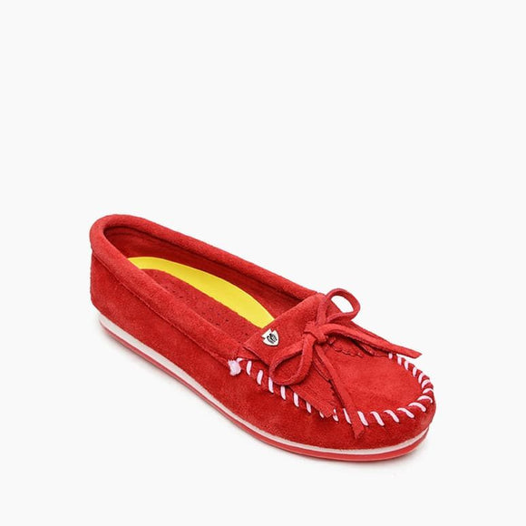 Kilty Plus Moccasin - Red