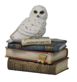 Snow Owl Trinket Box
