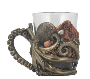Octopus Shot Glass with Handle