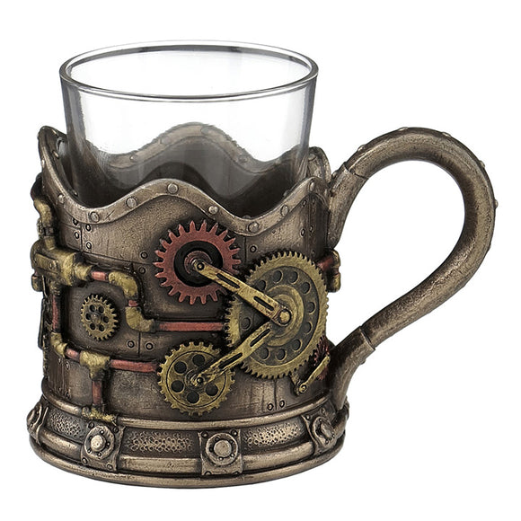 Gears Shot Glass