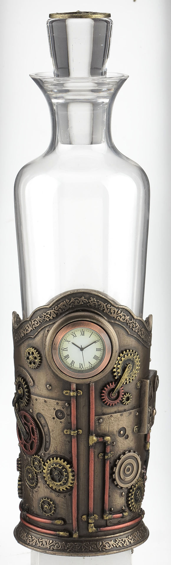 Clock Decanter