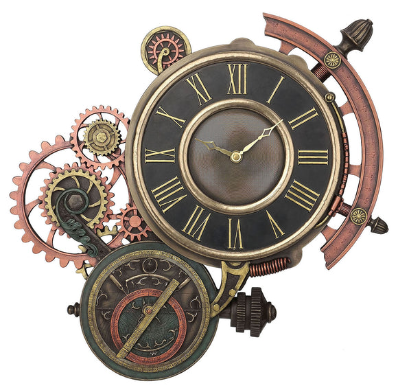 Steampunk Astrolable Clock