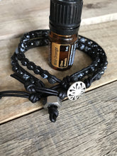 Mens Bracelet His Hers Essential Oil Diffuser Wrap Bracelet