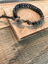 Men's Unisex Essential Oil Diffuser Bracelet - Aromatherapy Diffuser Lava Rock Essential Oil Jewelry - Labradorite Leather Wrap   Bracelet
