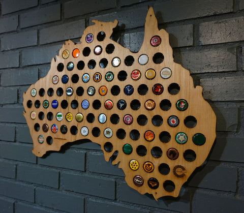A Beer Cap Maps - Us beer cap map