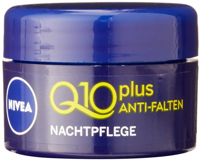Presente*: Nivea Q10 Night Cream Mini, 5 ml
