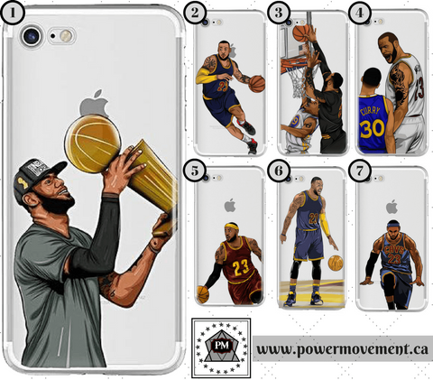 Power Movement | LeBron 'King' James - Sports Phone Cases