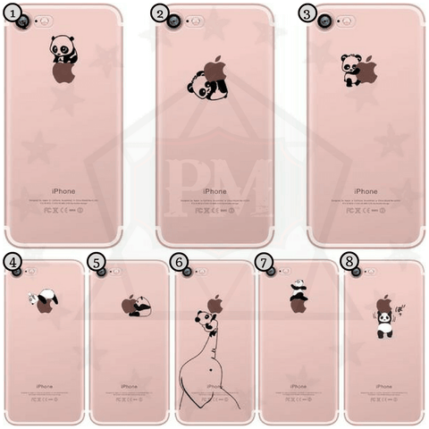 Little Panda iPhone Cases