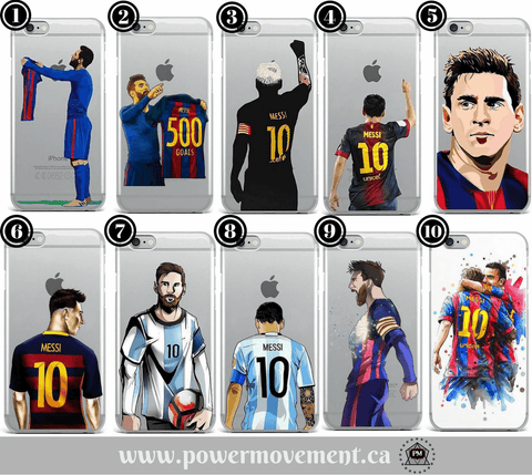 Power Movement | Leo King Messi - Sports Phone Cases