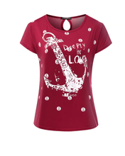 Summer Anchor Top T-Shirt for Women