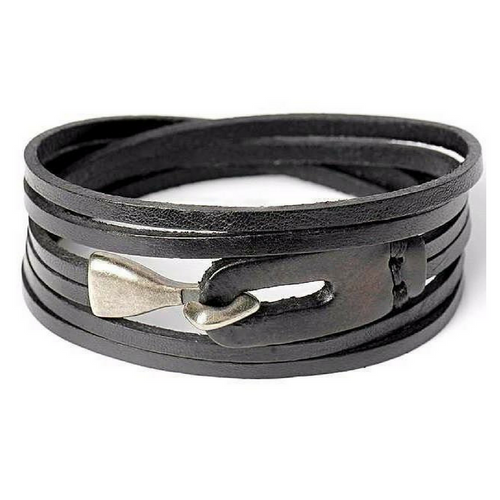 Leather Anchor Bracelets For Men