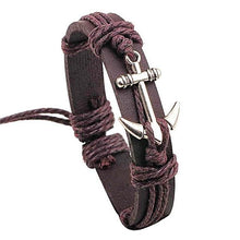 Leather Anchor Bracelet for the Best Friend