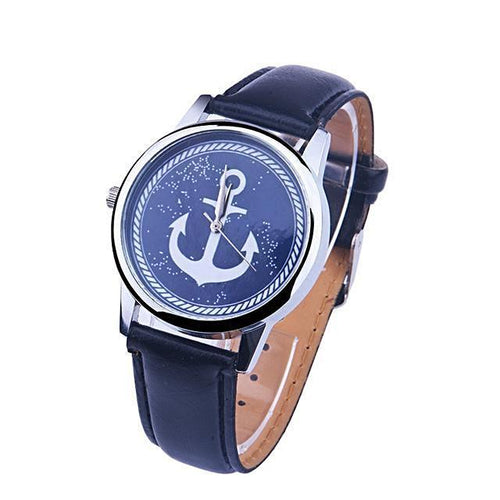 Elegant Anchor Watch for Women Nautical Fashion