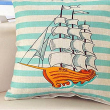 Nautical Style Cotton Cushion Covers