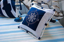 Nautical Themed Anchor and Compass Cushion Covers