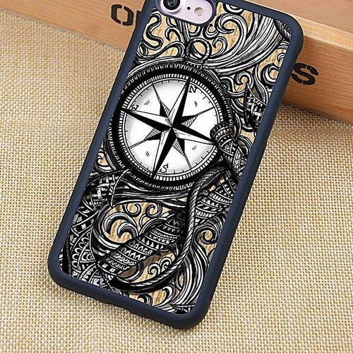 Nautical Vintage Compass Anchor Phone Case Nautical Phone Case