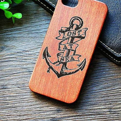 Vintage Bamboo Anchor Phone Case Nautical Phone Case