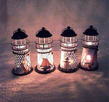 Nautical Style Lighthouse Iron Candle Holders Nautical Home Decor