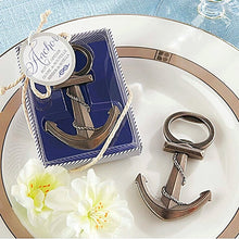 Nautical Anchor Bottle Opener Nautical Home Decor Wedding Favor