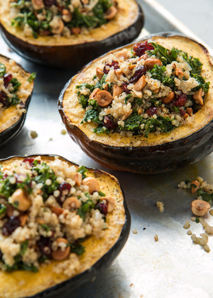 Stuffed Acorn Squash Arise Society