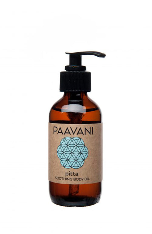 PITTA SOOTHING BODY OIL (for sensitive skin)