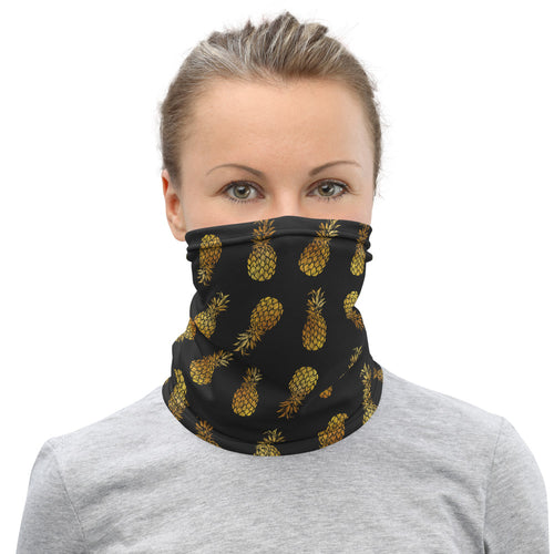 PINEAPPLE FACE SHIELD / NECK GAITER