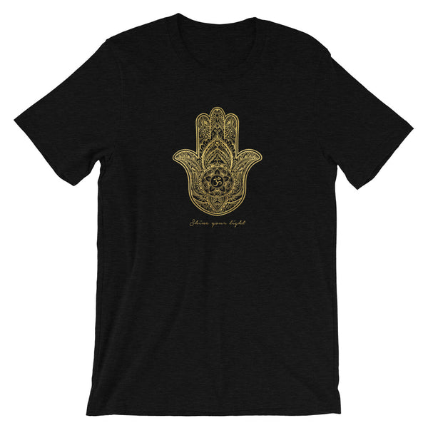 HAMSA OM 'SHINE YOUR LIGHT' TEE