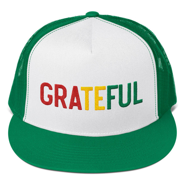 GRATEFUL IRIE TRUCKER CAP