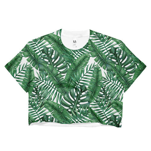 MOLOKAI CROP TOP - ALL OVER PRINT
