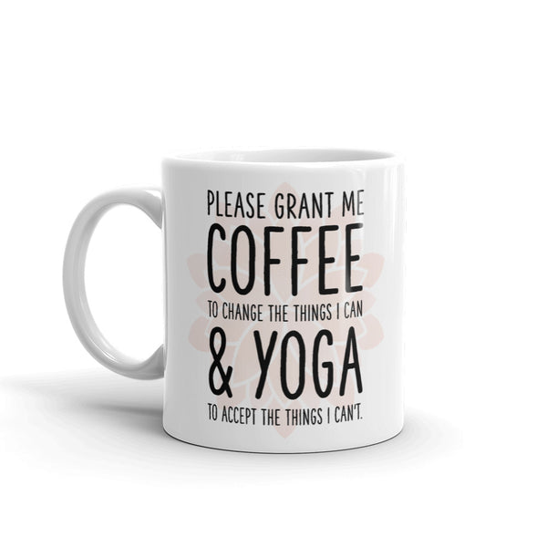 COFFEE & YOGA MUG