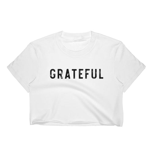 GRATEFUL CROP TEE WHITE