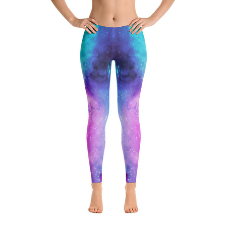 FLOWER OF LIFE COSMIC LEGGINGS
