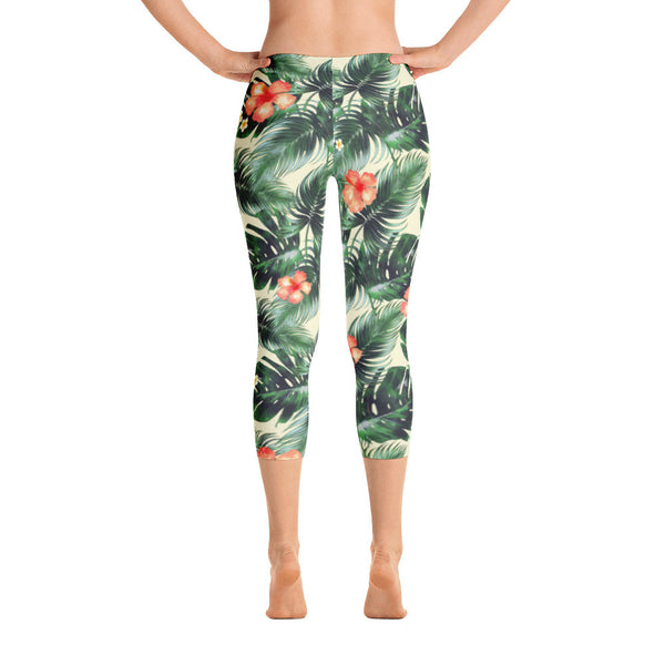 KAUAI NATURAL CAPRI LEGGINGS