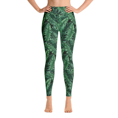MOLOKAI LEGGINGS ~ HIGH WAISTED BLACK