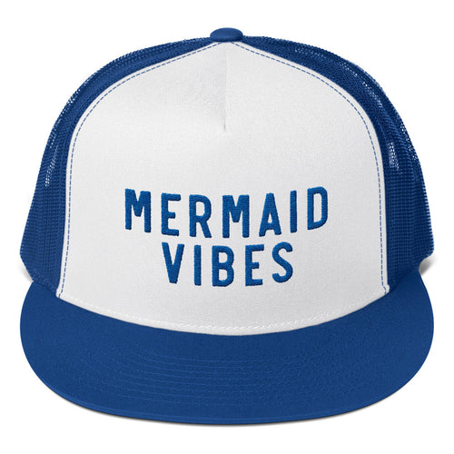 MERMAID VIBES TRUCKER CAP