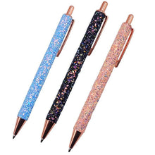 Ballpoint Boutique Glitter Sequin Crystal Pen