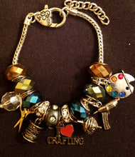 She's Crafty Charm Bracelet