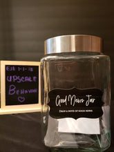Good News Jar ( with notepad & diamond Pen)